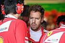 F1 维特尔:我觉得我在巴库顶撞汉密尔顿让法拉利失望了