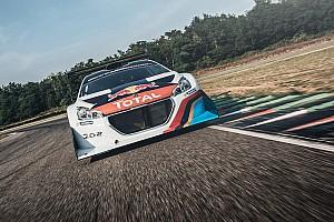 Hillclimb Actualités Loeb a repris le volant de la Peugeot 208 T16 Pikes Peak