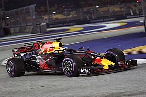Formula 1 Practice report Singapore GP: Ricciardo heads Red Bull 1-2 in second practice