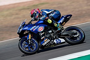 World Superbike Race report WorldSSP300 Portugal: Masalah elektronik, Galang Hendra tak finis