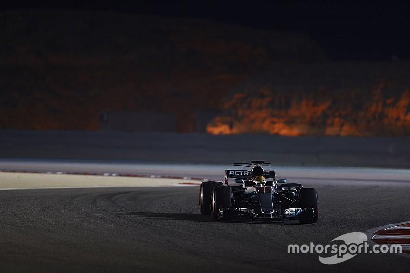 """Hamilton: """"Los Ferrari son dos décimas más rápidos en carrera"""""""