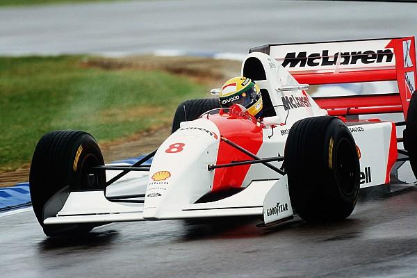 Formel 1 Vor 25 Jahren: Die legendäre F1-Startrunde von Ayrton Senna in Donington