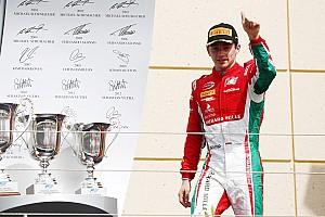 فورمولا 2 تقرير السباق فورمولا 2: لوكلير ناشئ فيراري يُقدّم أداء خياليًا ليفوز بالسباق الثاني في البحرين
