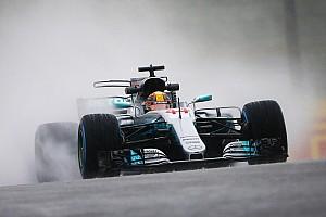 Formel 1 Trainingsbericht Formel 1 2017 in Suzuka: Wertlose Regenbestzeit für Lewis Hamilton