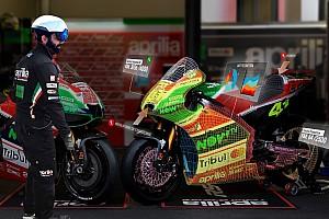 MotoGP Diaporama Aprilia fait entrer la réalité augmentée dans le stand