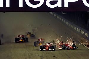 F1 Noticias de última hora Vettel, Räikkönen y Verstappen liberados de culpa del accidente
