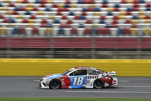 NASCAR Cup Race report Kyle Busch wins Stage 1 of the Coke 600; Harvick wrecks