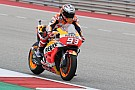 Austin MotoGP: Marquez leads Vinales in warm-up