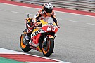 MotoGP Amerika: Marquez tercepat warm-up, Syahrin terjatuh