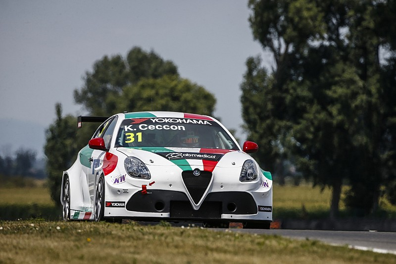 Primi punti per Ceccon al debutto con l'Alfa Romeo: