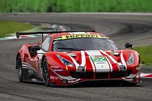 WEC Test Ferrari: a Monza ha esordito la terza 488 GTE che correrà a Le Mans