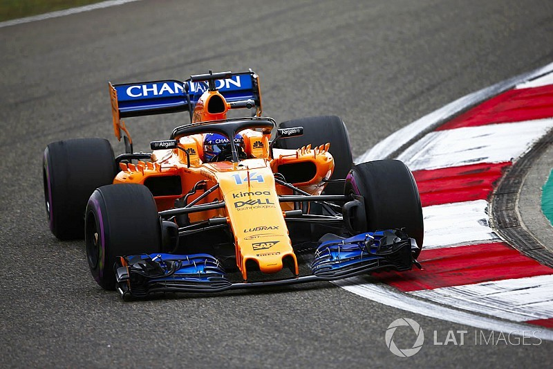 Alonso et McLaren devancés par 6 équipes sur la grille chinoise