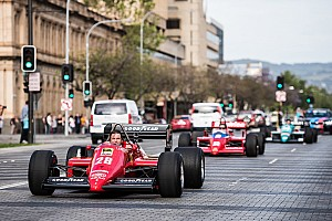 Vintage Breaking news F1 car to race 1200hp Toyota 86 in Adelaide
