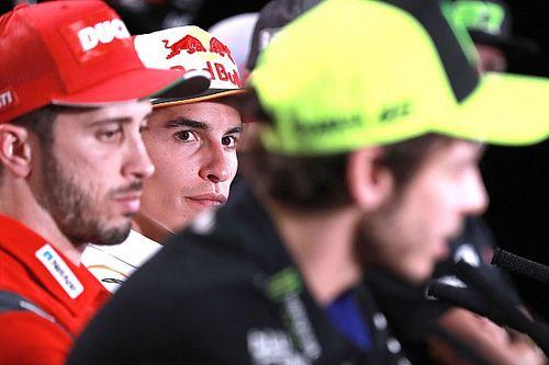 Tak Akur, Marc Marquez Tetap Akui Kedigdayaan Valentino Rossi