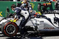 Pirelli обнародовала причины аварии Квята: был поврежден диск