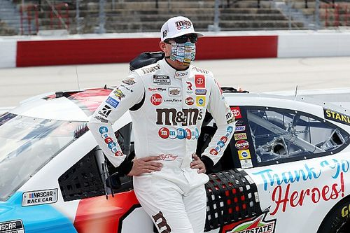 """Kyle Busch turns Chase Elliott, admits """"I made a mistake"""""""