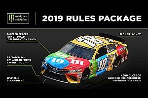 NASCAR stellt neue Aero- und Motorenregeln für 2019 vor