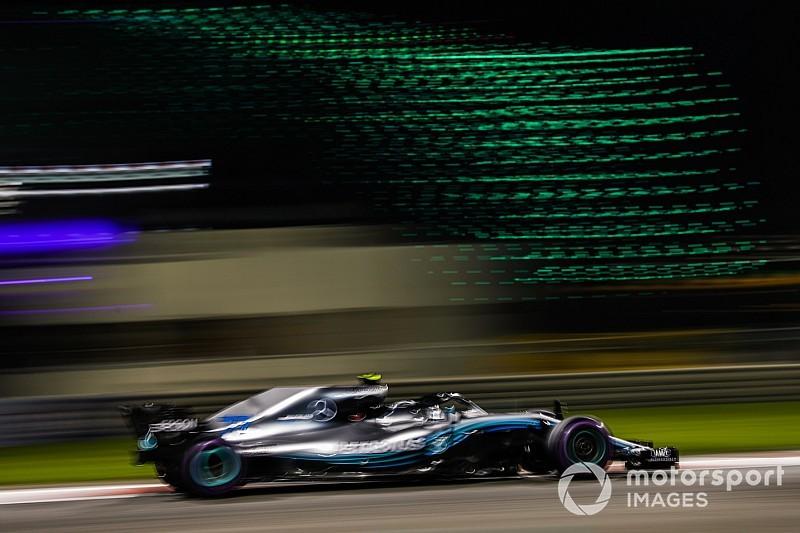 Bottas logra lo mejor del viernes en Abu Dhabi