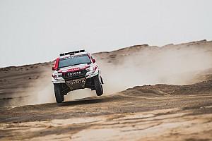 ステージ9を終え、競技はあと1日。トヨタ&アル-アティヤ、リードを広げる