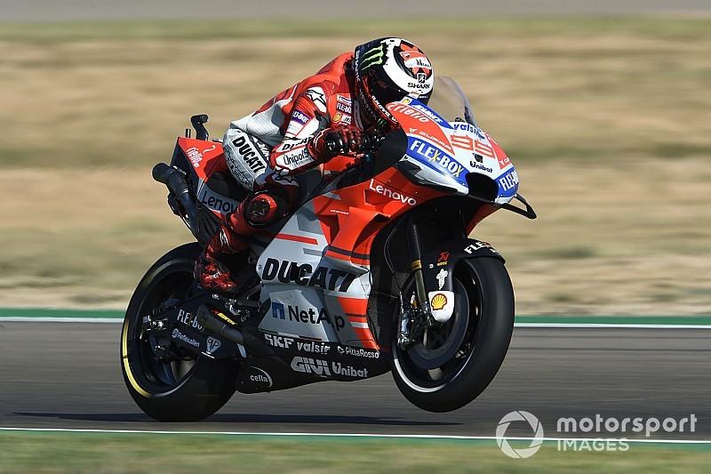 MotoGP in Aragon: Jorge Lorenzo erobert Pole – Valentino Rossi nur 18.