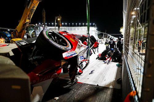 Fórmula E: Assista ao grave acidente que levou Lynn para o hospital