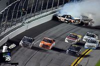 Ben Rhodes claims victory in chaotic Truck opener