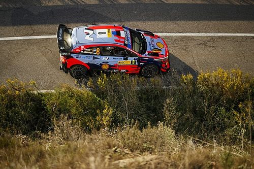 Chassis damage rules Hyundai's Tanak out of WRC Rally Spain completely