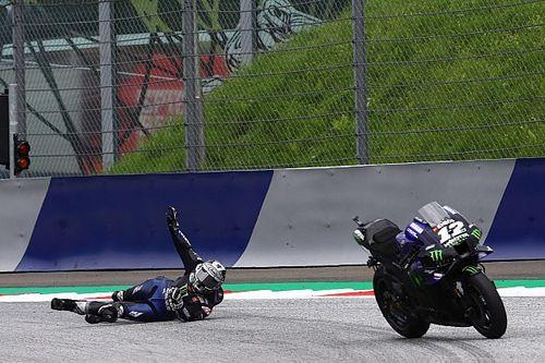 Vinales explains dramatic brake 'explosion' in Styria MotoGP