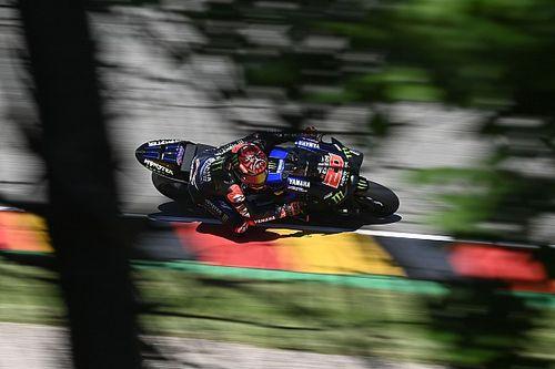 German MotoGP: Quartararo leads FP3, Vinales heads into Q1