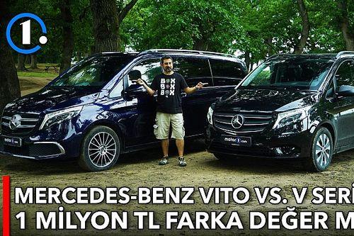 Mercedes-Benz Vito vs. V Serisi | Karşı Karşıya
