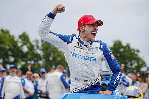 """Palou welcomes """"lucky"""" IndyCar Road America win despite Newgarden woes"""