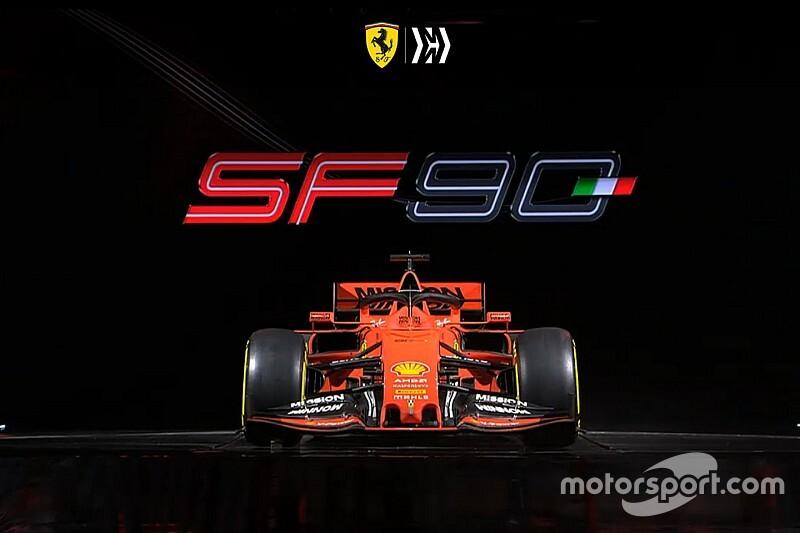 Präsentation Ferrari SF90: Vettels neuer Bolide