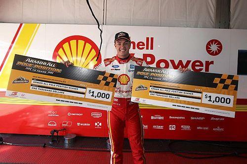 Albert Park Supercars: Record-breaking McLaughlin locks out poles