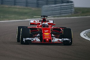 Formel 1 News Video: Kimi Räikkönen beim Shakedown des Ferrari SF70H in Fiorano