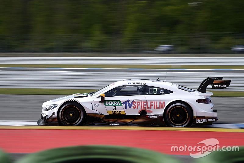 DTM у Хоккенхаймі: Mercedes виграє перше тренування