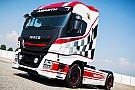 Automotive Camiones Iveco inspirados en el Abarth 124 Rally de competición