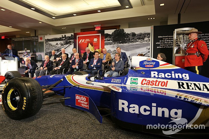 Canadian International AutoShow celebrates 50 years of Formula 1 in Canada