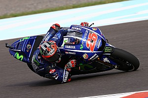MotoGP Practice report Argentina MotoGP: Vinales stays ahead in FP2 as big names toil