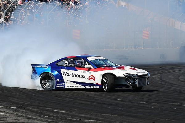 Formula Drift James Deane continues his winning ways