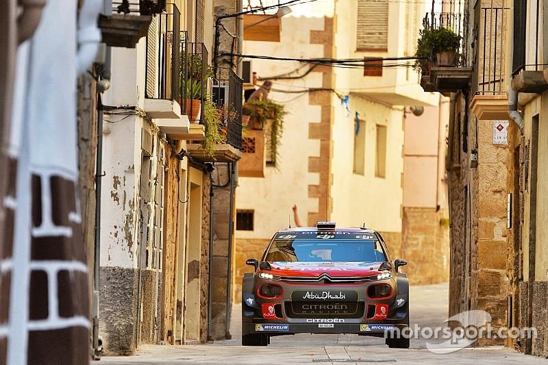 WRCスペイン:2日目のターマックでヒュンダイ苦戦。ミークが首位に浮上