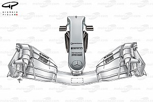Análisis técnico: El cambio radical en la nariz de Mercedes
