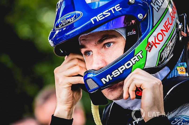 [WRC] M-Sport提拔苏尼宁参加18赛季8站比赛