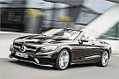 Automotive Mercedes zeigt Facelift-Version von S-Klasse-Cabrio