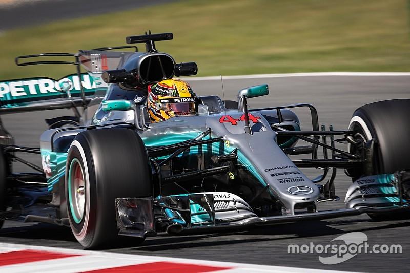 【F1】スペインGP FP2速報:ハミルトンが連続首位。アロンソは出走し20番手