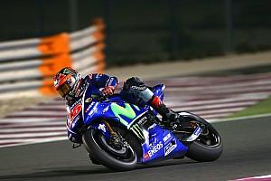 MotoGP Réactions Viñales deuxième temps sans forcer