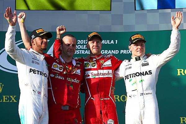 Formula 1 Yarış raporu 2017 Avustralya GP: Vettel ve Ferrari zaferle başladı!
