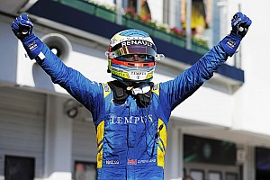 FIA F2 Reporte de la carrera Rowland gana la primera carrera en Hungría