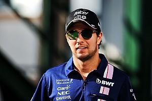 F1 突发新闻 佩雷兹目标在夏休期解决2018年合同