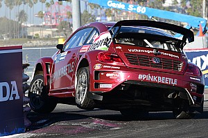 Global Rallycross Race report Speed and Deegan win GRC in Port of LA