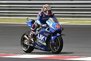 MotoGP Practice report Malaysian MotoGP: Vinales fastest, Crutchlow crashes into Q1